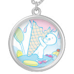 Casper Sweet Ice Cream Personalized Necklace