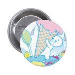 Casper Sweet Ice Cream Pinback Button