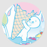 Casper Sweet Ice Cream Stickers