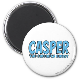 Casper the Friendly Ghost Blue Logo 1 Refrigerator Magnets