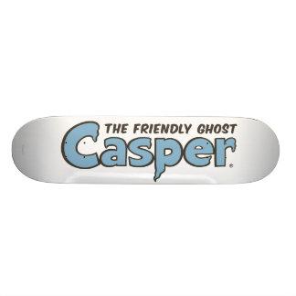 Casper the Friendly Ghost Blue Logo 2 Skateboard Deck