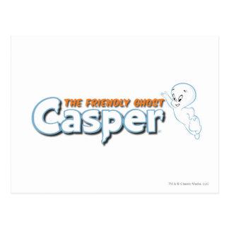 Casper The Friendly Ghost Logo 1 Postcard