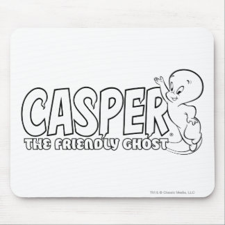 Casper the Friendly Ghost Logo 2 Mouse Pad