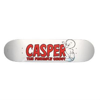 Casper the Friendly Ghost Red Logo 2 Skateboard Deck