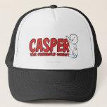 "Casper the Friendly Ghost Red Logo 2 Trucker Hat<br><div class=""desc"">Casper Logos</div>"