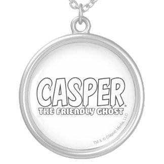 Casper the Friendly Ghost White Logo Necklaces