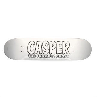 Casper the Friendly Ghost White Logo Skateboard Deck