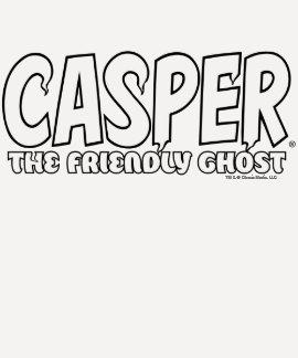 Casper the Friendly Ghost White Logo T-shirt