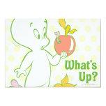 Casper What's Up 5x7 Paper Invitation Card