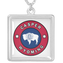 Casper Wyoming Silver Plated Necklace