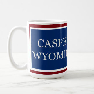 Casper Wyoming State Flag Mug