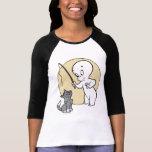 Casper y gatito camisetas