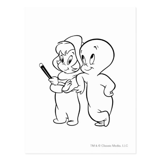 Casper y Wendy Postal