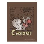 Casper y Wendy Tarjeta Postal