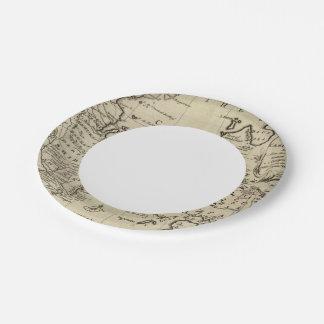 Caspian Sea Paper Plate