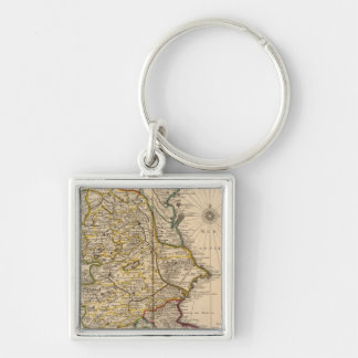 Caspian Sea Region Keychain