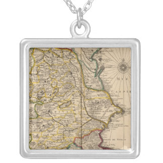 Caspian Sea Region Silver Plated Necklace