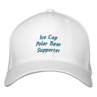 Casquete glaciar bordado diversión del partidario gorros bordados