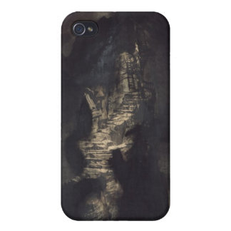 Casquets Lighthouse, 1866 iPhone 4/4S Case