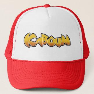 casquette de kaboum rouge trucker hat