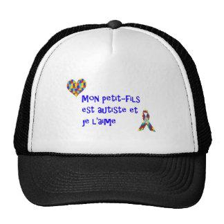 Casquette Mon petit-fils est autiste et je l'aime Trucker Hat