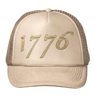 Casquillo 1776 de la independencia gorro de camionero