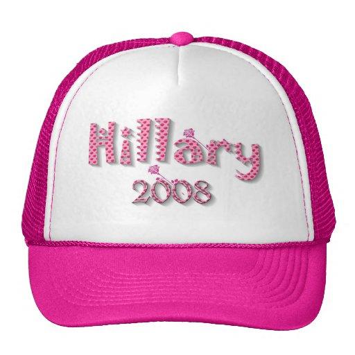 Casquillo 2008 del gorra de Hillary