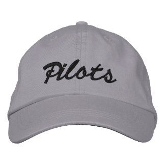 Casquillo 2009 de la bola de los pilotos - ajustab gorras bordadas
