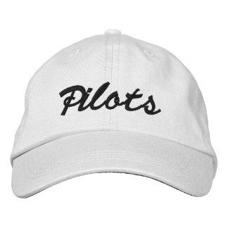 Casquillo 2009 de la bola de los pilotos - blanco  gorra de beisbol