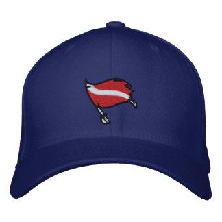 Casquillo 2,0 de la bandera de la zambullida del p gorra bordada