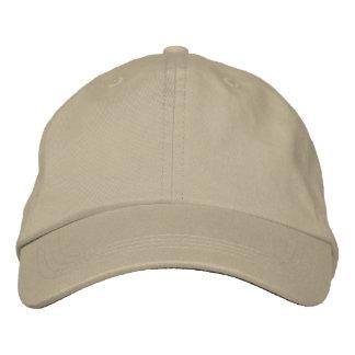 Casquillo ajustable para hombre - 18 colores a ele gorra de beisbol bordada