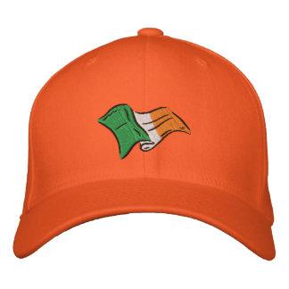 Casquillo anaranjado irlandés de Eire de la bander Gorra De Béisbol Bordada