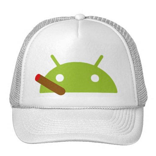 Casquillo androide del cigarro gorros