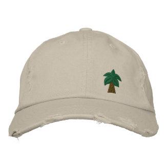 Casquillo apenado palmera gorras de beisbol bordadas