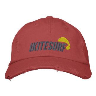 casquillo apenado rojo del iK Gorras De Beisbol Bordadas