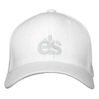 Casquillo apto de la flexión blanca con el logotip gorras bordadas