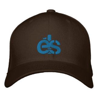 Casquillo apto de la flexión de Brown con el logot Gorra De Béisbol