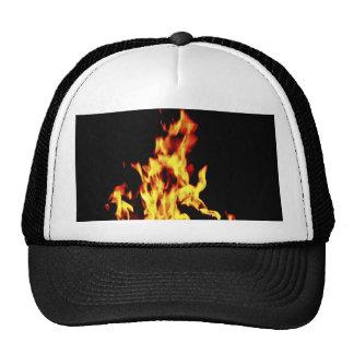 Casquillo ardiente del gorra