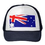 Casquillo australiano de la bandera gorro de camionero