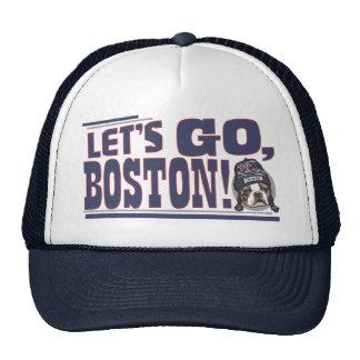 Casquillo azul de la fan impresionante de Boston Gorro