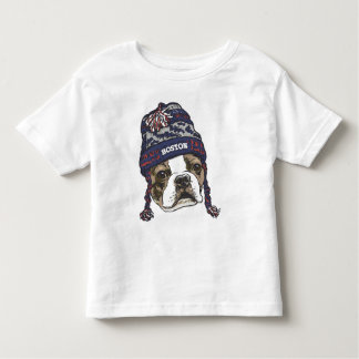 Casquillo azul de la fan impresionante de Boston Camisetas