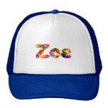 Casquillo azul de la malla de Zoe Gorras