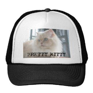 Casquillo bonito del gatito gorra