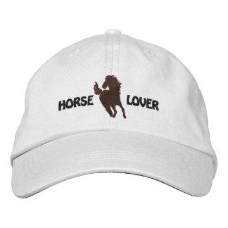 Casquillo bordado amante del caballo - diversos es gorros bordados