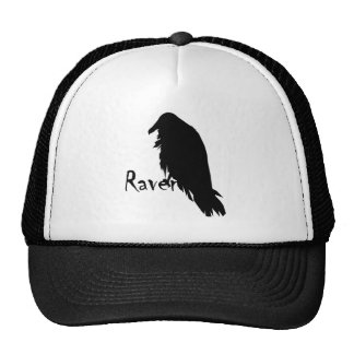 Casquillo bordado cuervo gorros