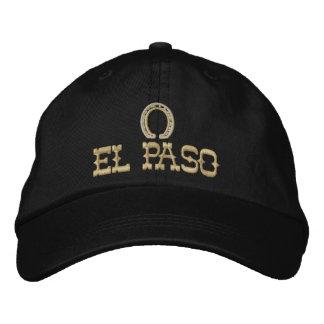 Casquillo bordado de El Paso Gorra De Béisbol