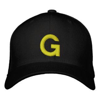 Casquillo bordado de G Gorra De Beisbol