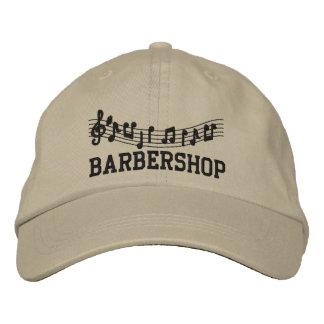 Casquillo bordado de la música de la barbería gorros bordados