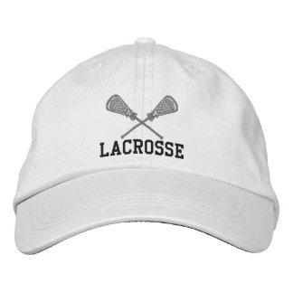 Casquillo bordado de LaCrosse Gorra De Béisbol