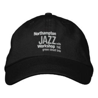 Casquillo bordado del taller del jazz de gorra de beisbol bordada